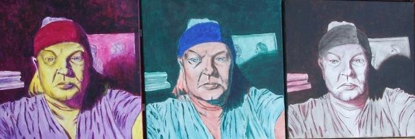 Portrait of the Artist X Three