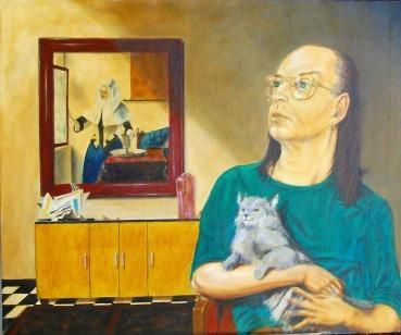 A Cat, A Vermeer