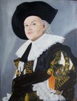 Portrait of the Artist ala Frans Hals