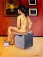 Woman in the Studio