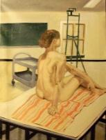 Nude in the Studio