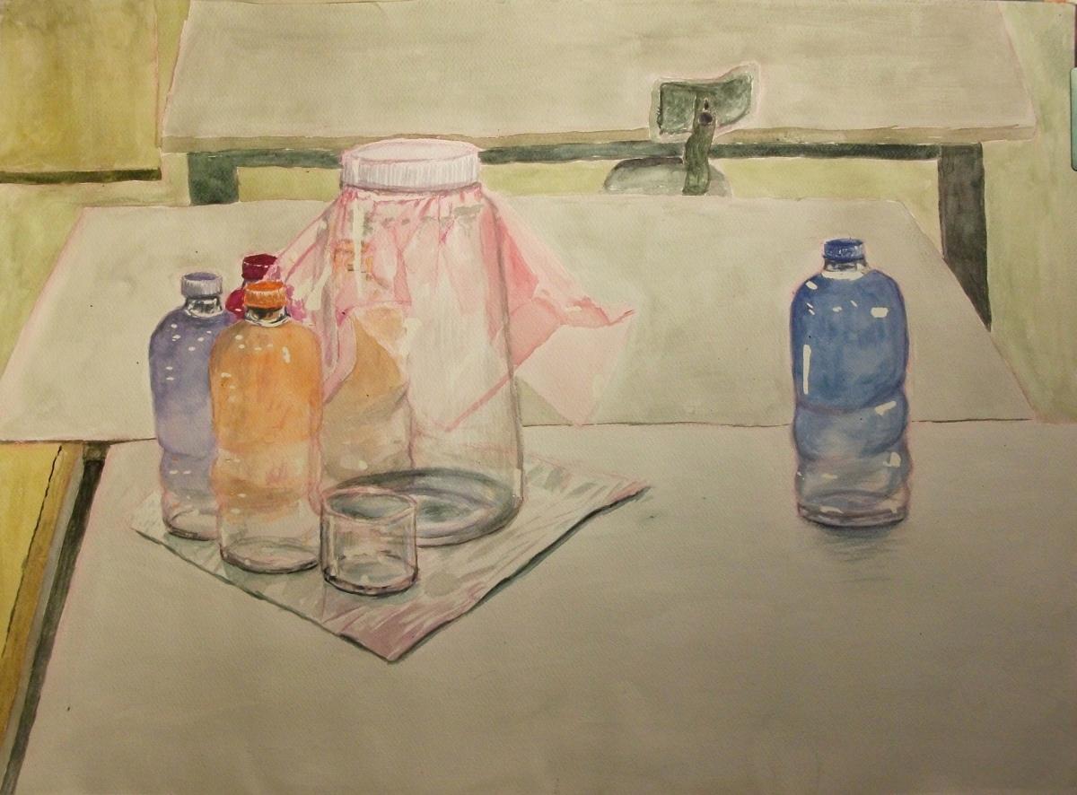 Bottles, Canister, Foil, Plasticwrap