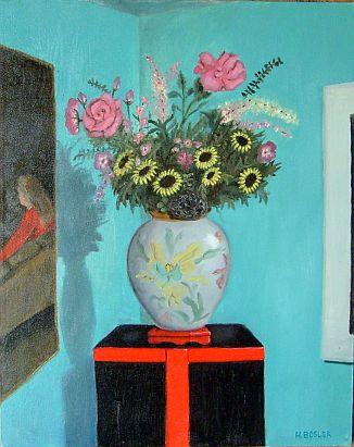Dutch Vase in the Corner