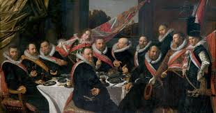 Banquet of the Officers of the St. George Civic Guard (c. 1616, Frans Hals Museum, Haarlem)
