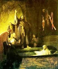 The Raising of Lazarus (c. 1630, Los Angeles County Museum of Art, Los Angeles)