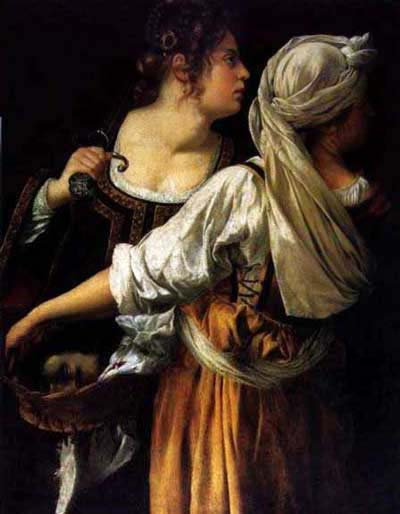Fig. 1. Artemisia Gentileschi. Judith and Her Maidservant. c. 1613-1614. Palazzo Pitti, Florence.