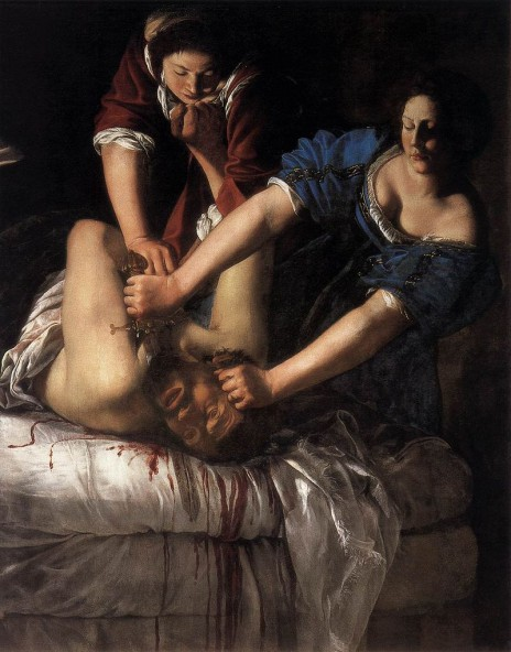 Fig. 2. Artemisia Gentileschi. Judith Beheading Holofernes (Naples Version).c.1612-1613. Museo di Capolodimonte, Naples.