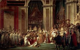 The Coronation of Napoleon, Oil on Canvas, David 1805-7
