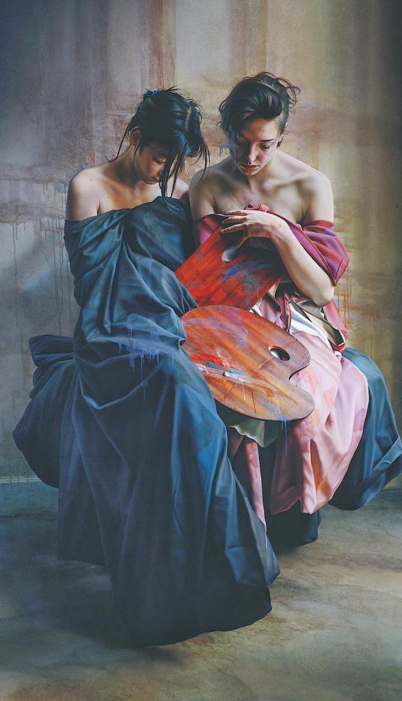 Paintings by István (Étienne) Sándorfi