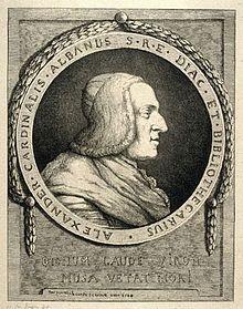 Cardinal Alessandro Albani
