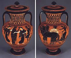 Attic Vase, Exekias, 6th Century BC