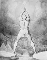 The Fertilization of Egypt, Etching, William Blake after a Sketch by Henry Fuseli 1791