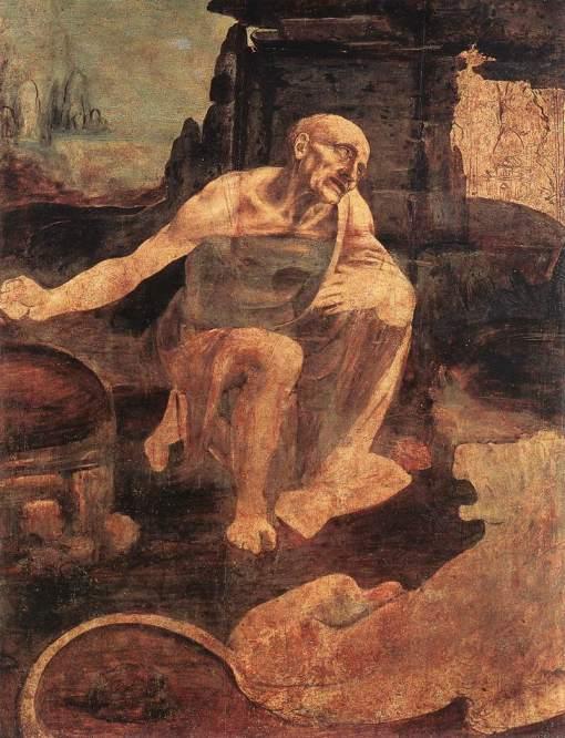 St. Jerome by Leonardo Da Vinci