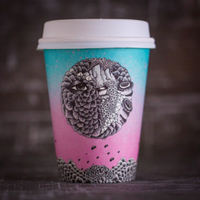 How Disposable Coffee Cup Design Became High Art –Eater