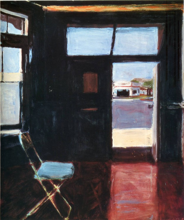 Interior with View of Buildings, Richard Diebenkorn