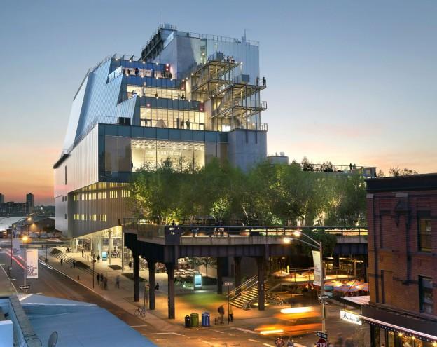 The New Whitney Museum of American art, Renzo Piano 2015