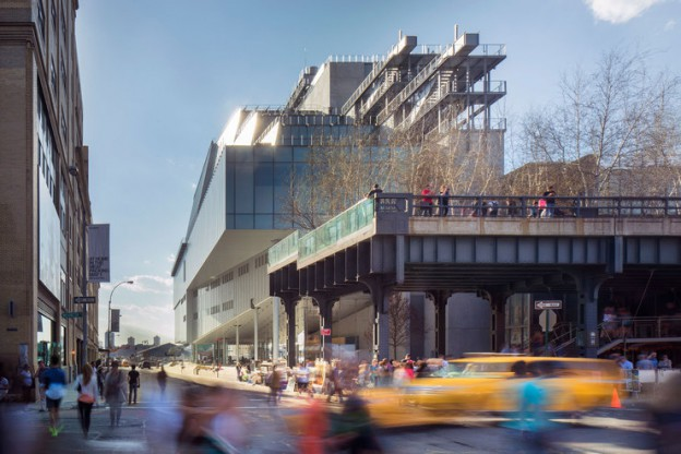 The New Whitney Museum of American art, Renzo Piano 2015