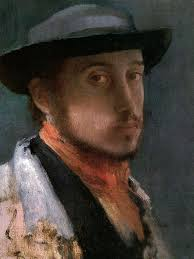 Self-Portrait by Edgar Degas