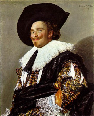 The Laughing Cavalier, Oil on Canvas, Frans Hals 1624