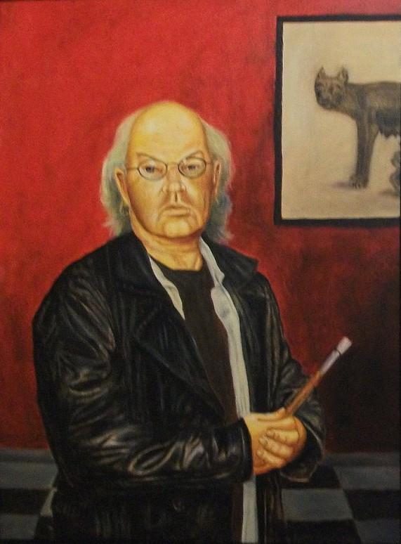 Self-Portrait in the manner of Degas, Howard Bosler.