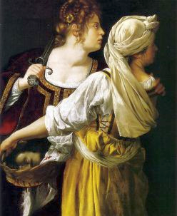 Reproduction of Judith and Her Maidservant by Howard Bosler. 2009.