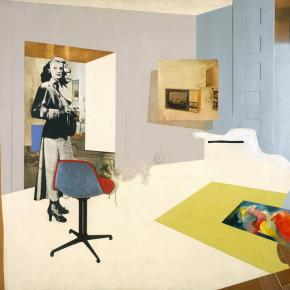 Richard Hamilton's last painting to be centrepiece of posthumous exhibition | Art and design | TheGuardian