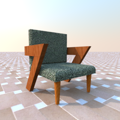 Seven Chair No. 2 by Howard Bosler 2015