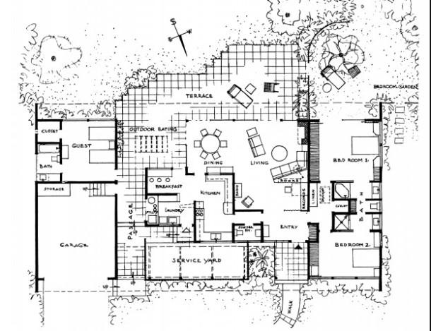 Case Study House #1 and JR Davidson | Howard Bosler Artist
