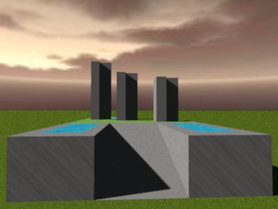 Three Towers by Howard Bosler