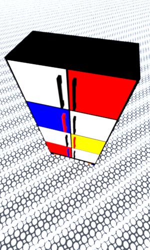 De-Stijl-cabinet