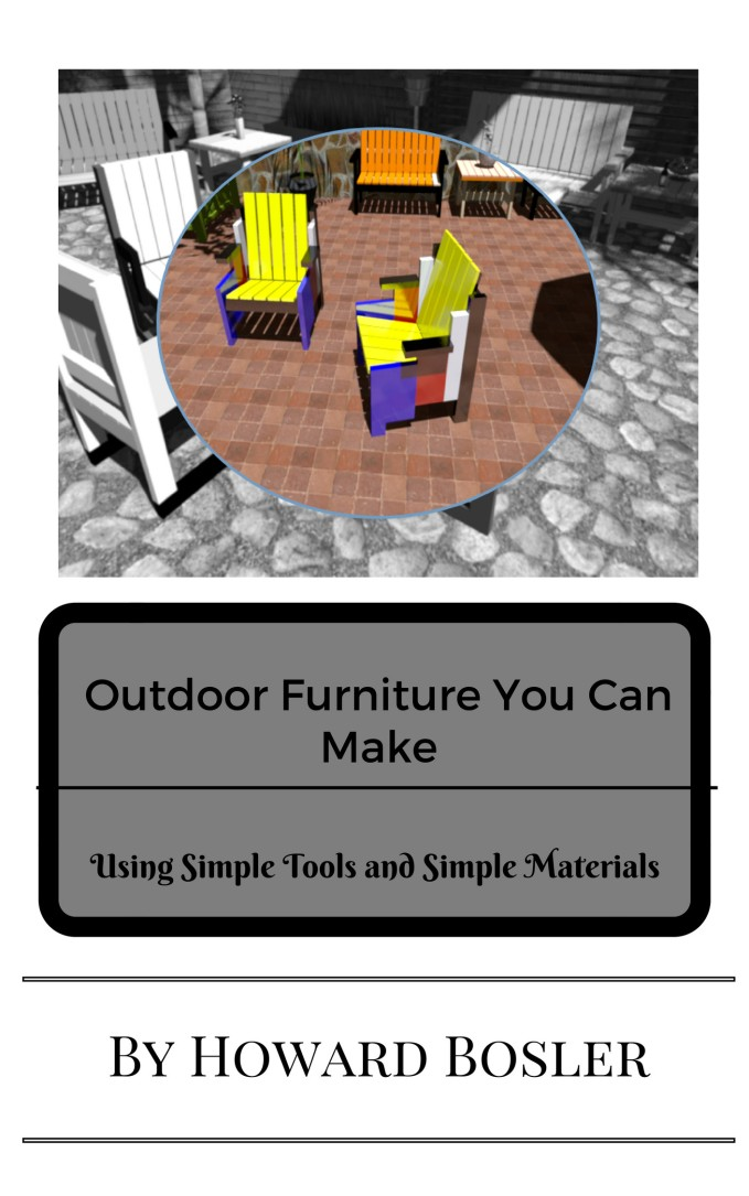 Outdoor Furniture You Can Make...