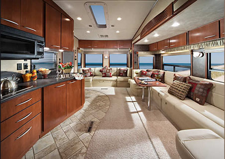 5th Wheel Camper Interior.