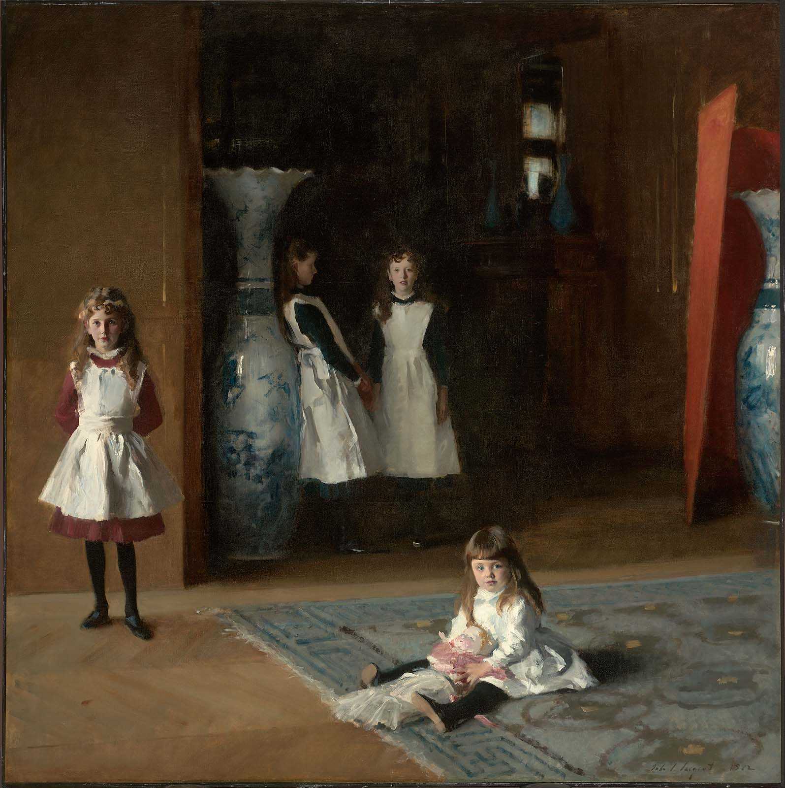 The Daughters of Edward Darley Boit, Oil on Canvas, John Singer Sargent, 1882.