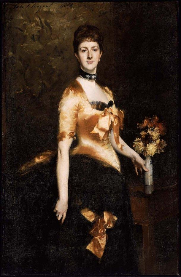 Edith, Lady Playfair, Oil on Canvas, 1884.