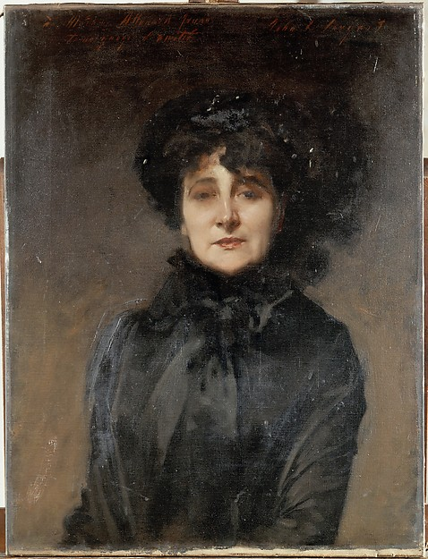 Madame Allouard-Jouan, Oil on Canvas, 1882.
