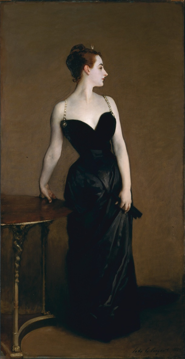 Madame X, Oil on Canvas, 1884.