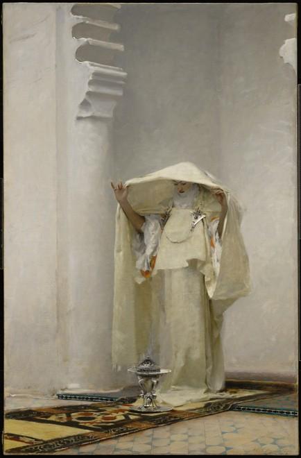Fumée d'ambre gris , Oil on Canvas, 1880.