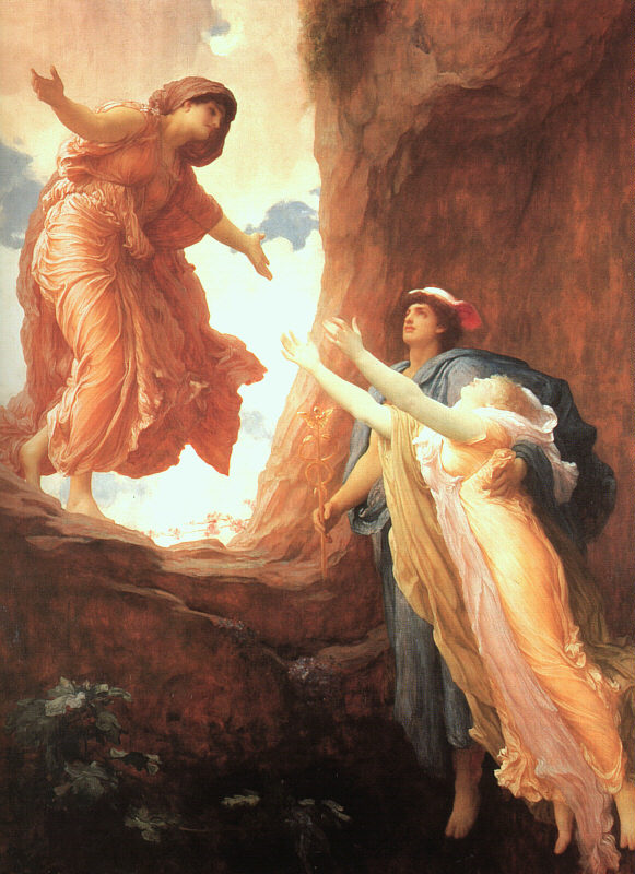 The Return of Persephone, Oil on Canvas, Frederic Leighton, 1891.