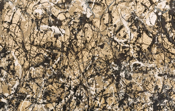 Autumn Rhythm, Oil on Canvas, Jackson Pollock, 1950.