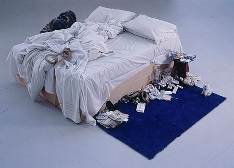 My Bed, Tracey Emin, 1998.