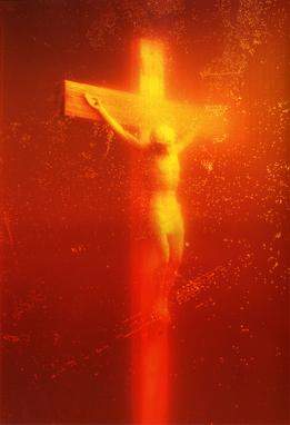 Piss Christ, Photograph, Serrano Andres, 1987. (Funded in Part by Taxpayer Dollars.)