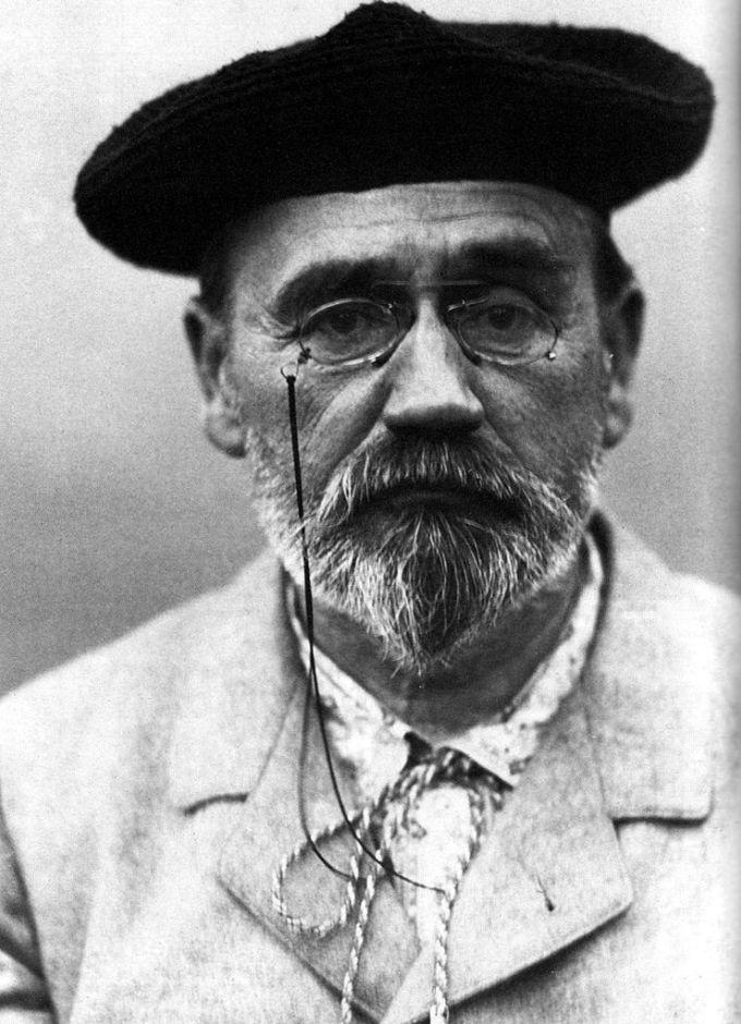Emile Zola, Art Critic and Friend of Cezanne.