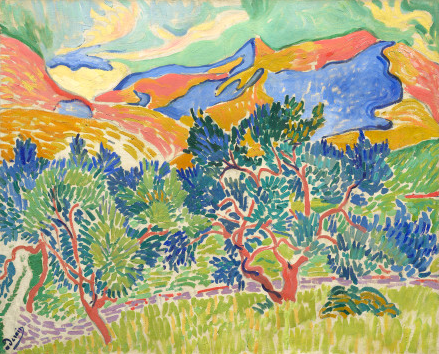 Andre' Derain's Mountains at Collioure