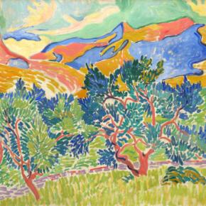 Andre' Derain's Mountains atCollioure