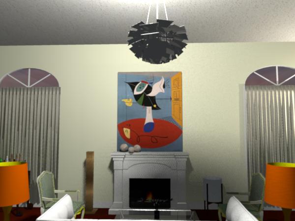 Modern Room.