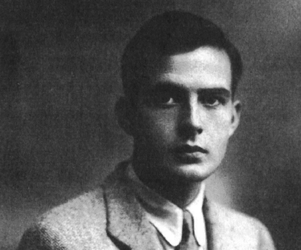 Samuel Barber as a Young Man.