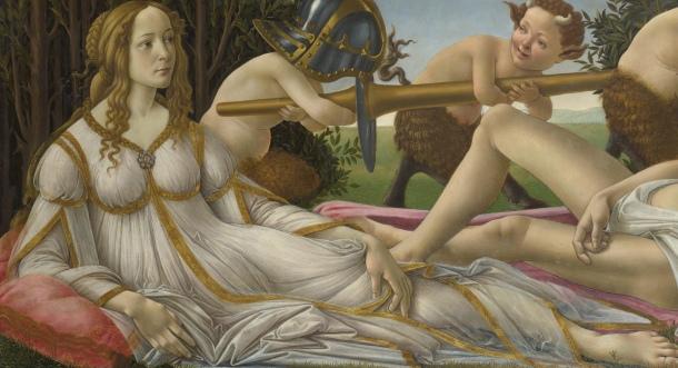 """""""Venus"""" Detail."""