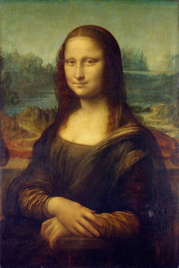 The Mona Lisa, Oil on Panel, Louvre, Leonardo da Vinci, 1503.