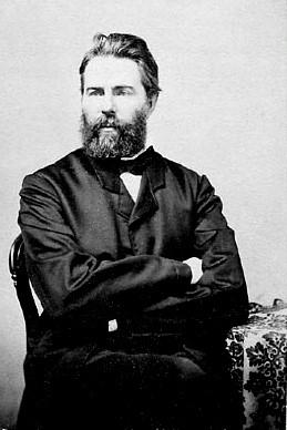 Herman Melville in 1861.