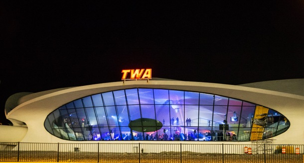 BEYOND BORDERS Storefront for Art and Architecture 2016: Spring Benefit at the TWA Flight Center  JFK
